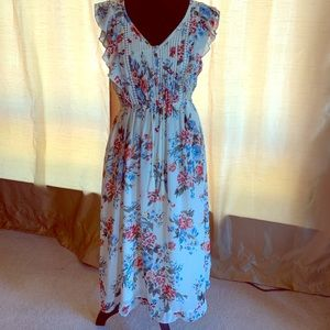 Brand new Abercrombie and Fitch floral dress